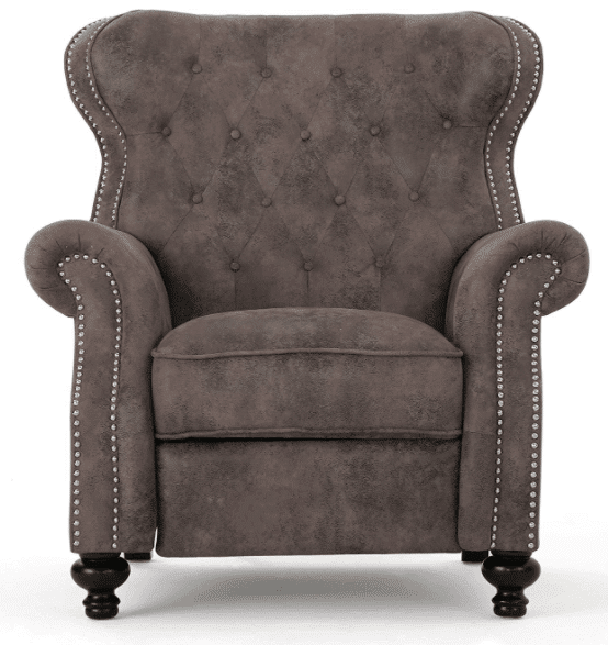 Waldo Tufted Wingback Recliner Chair